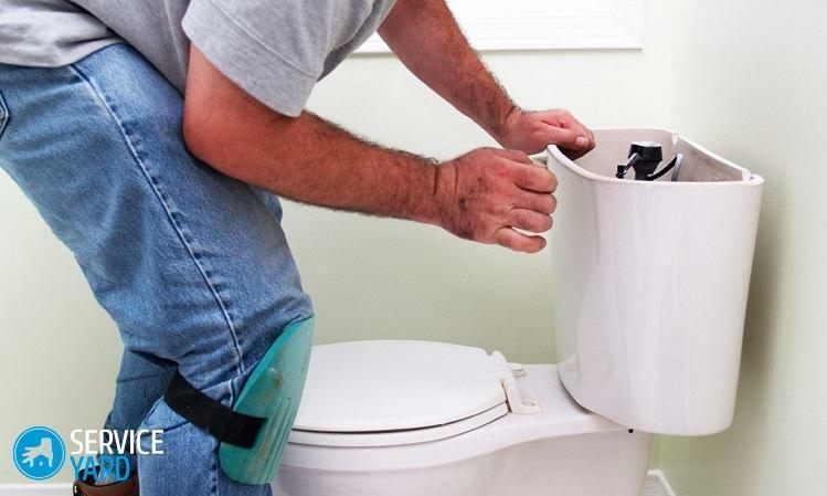 How to clean the toilet bowl inside?