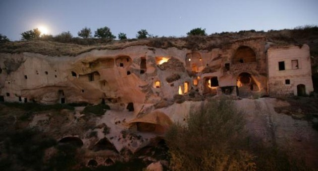 The most unusual hotel in Turkey Gamirasu Cave Hotel is located in a cave