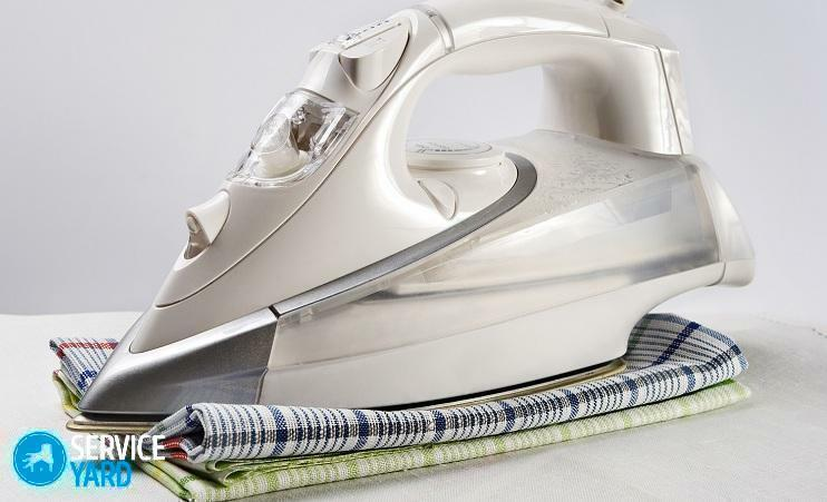 How to iron the bed linen on the ironing board?