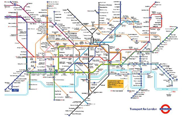 The most intricate metros of the world