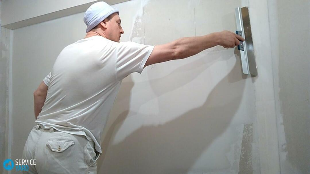 Drywall on the walls with your own hands under the wallpaper