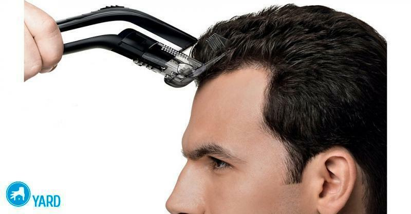 The machine for a hairstyle