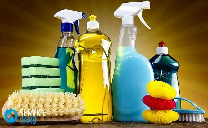 Wet house cleaning is a necessary procedure for cleanliness