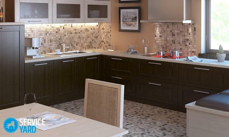 How to paint the kitchen set yourself?
