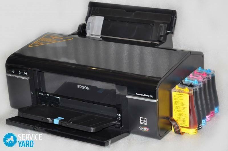 Color inkjet printer with CISS is the best