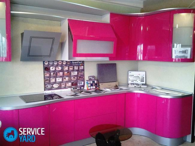 Than to wash kitchen set glossy?