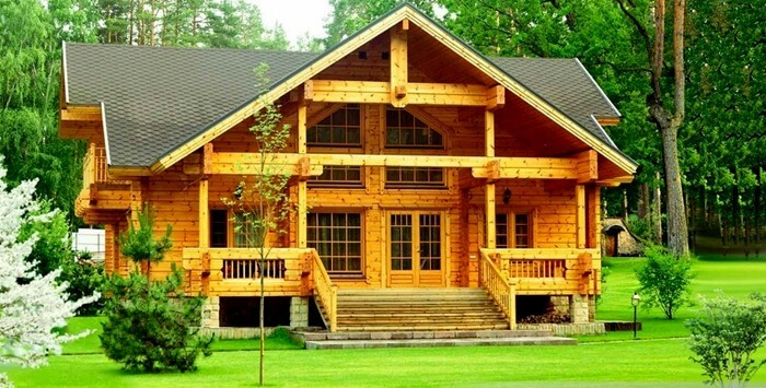 10 features of houses from laminated veneer lumber