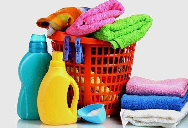 Washing towels: how to remove stains, keep whiteness and softness?