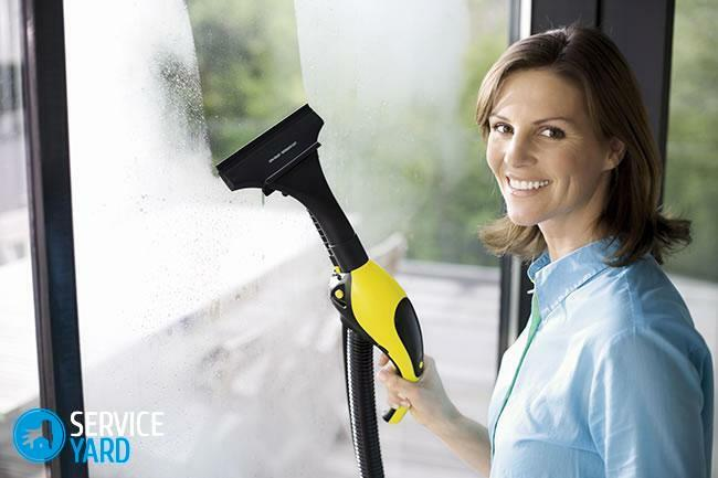 Kercher Steam Cleaner for washing windows
