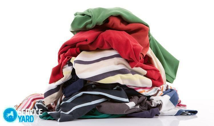 Dry cleaning of clothes at home