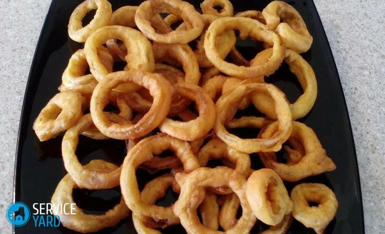How to make onion rings at home?