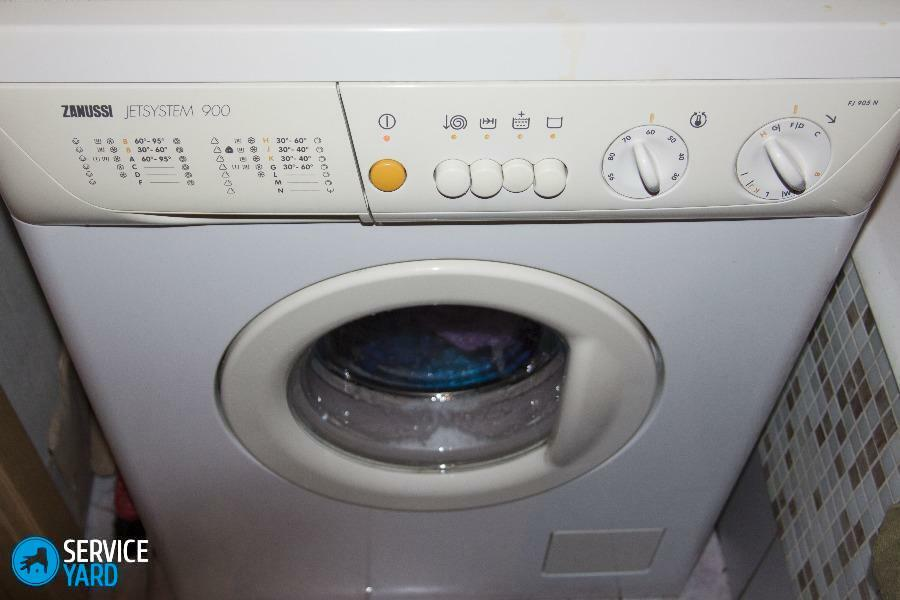 Washing machine Zanussi - malfunctions and their elimination