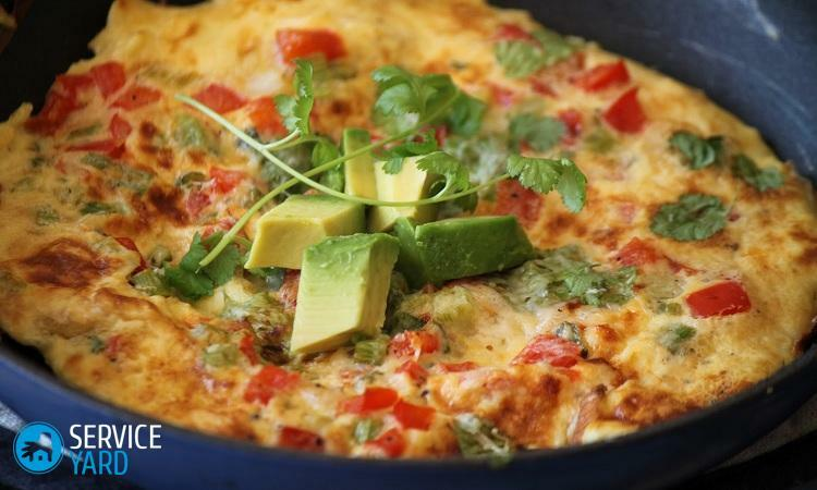 How to make an omelette in a frying pan?