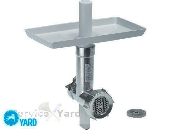How to assemble a meat grinder manually - photo