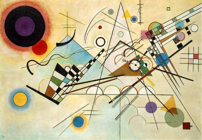 The most famous paintings of Kandinsky