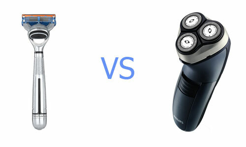 Machine or electric shaver: what better to buy