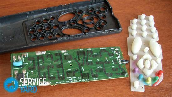 Repair of TV remotes