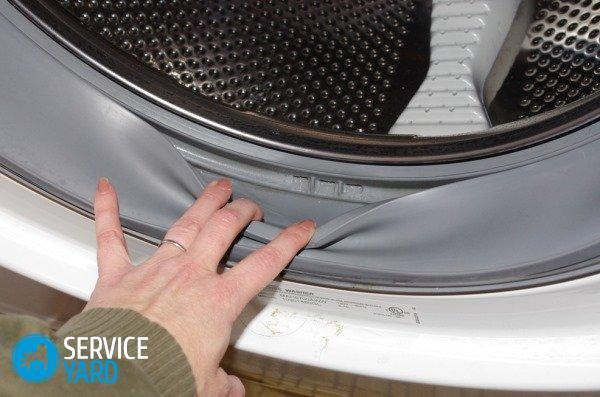 How to clean the washing machine from the dirt inside the machine?
