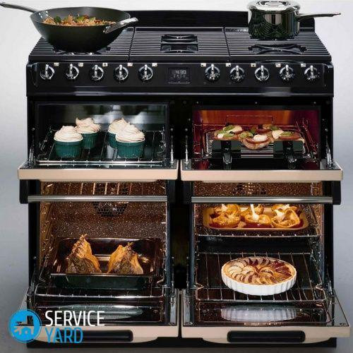 Oven stand-alone electric oven