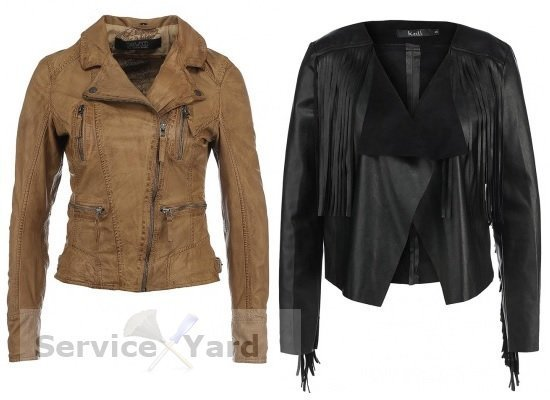 How to iron a leather jacket?