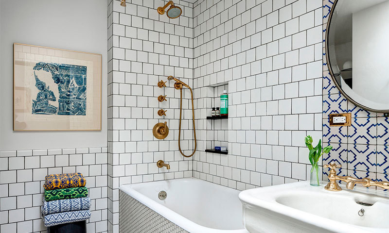 How to choose a tile for bathroom and toilet
