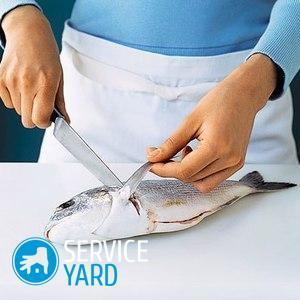 How to get rid of the smell of fish on your hands?