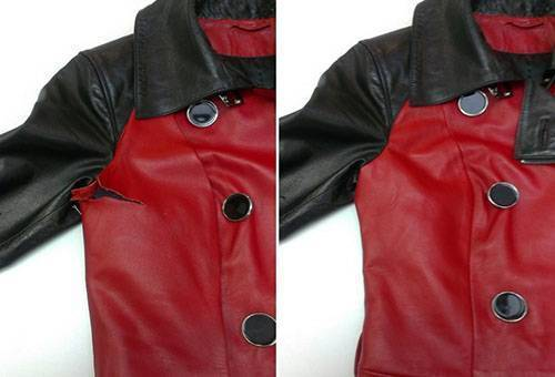 How to glue a leather jacket at home: 2 ways to repair