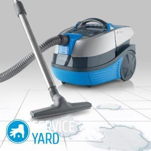 Washing vacuum cleaner - rating