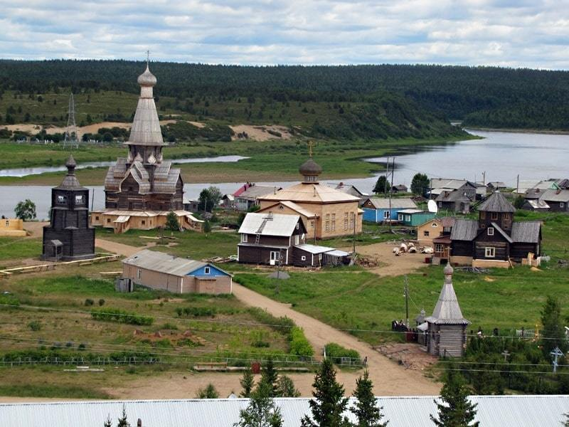 Top 10 most beautiful villages in Russia
